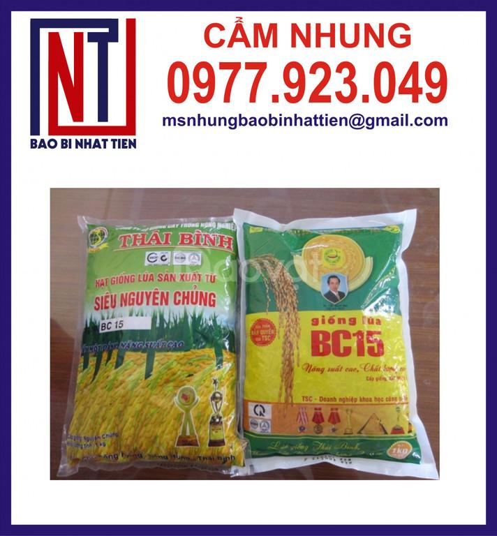 Cung cấp bao bì đựng lúa giống 1kg (ảnh 7)
