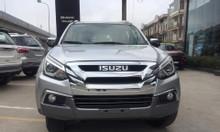 bán xe isuzu Mu-X B7 1.9 MT màu bạc, nhập khẩu giá tốt