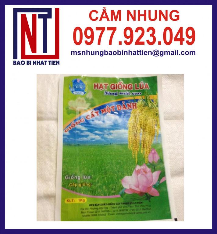 Cung cấp bao bì đựng lúa giống 1kg (ảnh 3)