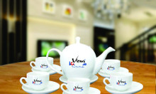 Xưởng in logo ấm chén Quảng Nam, ấm trà giá rẻ tại Quảng Nam