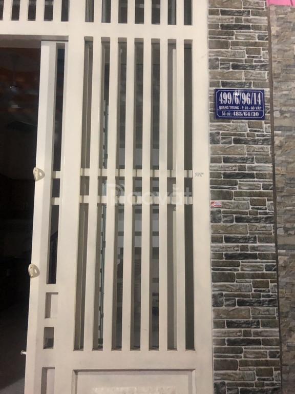 Chính chủ bán nhà ở Quang Trung, Gò Vấp, TP HCM