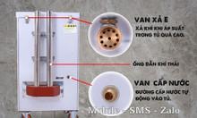 Tủ nấu cơm bằng gas 6 khay Inox cao cấp - tủ nấu cơm 20kg giá tốt