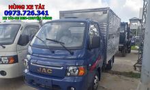 Xe tải JAC 1t25 thùng dài 3m2 giá khuyến mãi.