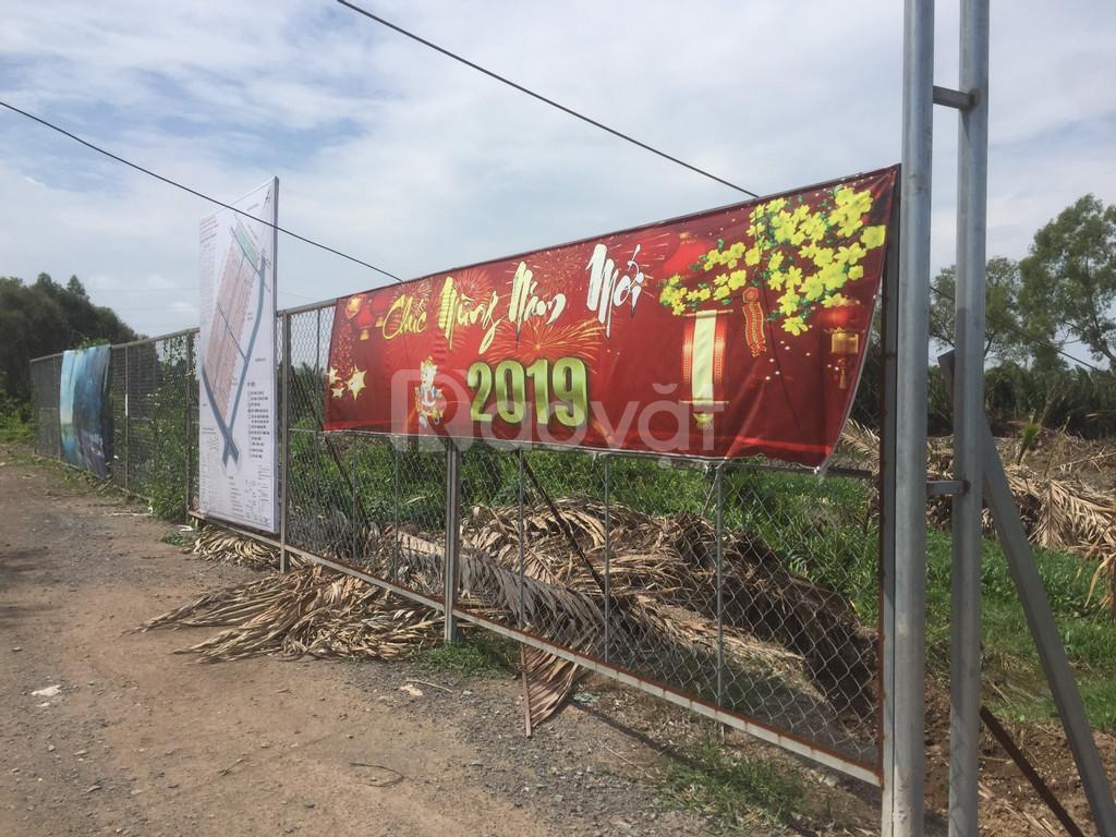 Đất nền khu tái định cư Mỹ Kim Long ngay cụm KCN An Nhựt Tân giá 6.5tr