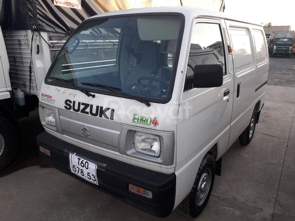 Xe suzuki bán tải 500kg vào thành phố - Xe suzuki van 500kg