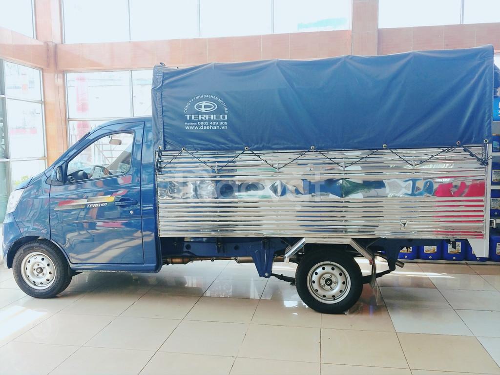 Mua xe tải Tera 100 tặng bảo hiểm hai chiều