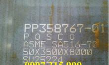 Thép tấm a516 gr70, thép tấm chịu nhiệt lạnh, giá thép a516 tháng 12