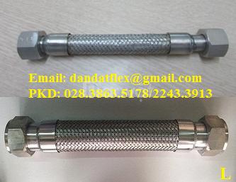 Ống nối mềm inox 304, khớp nối mềm inox 304, ống mềm inox 304 -Dân Đạt