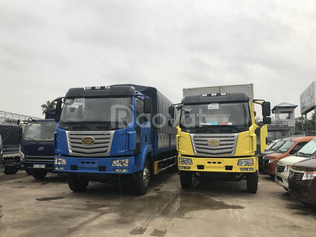 Xe tải faw thùng dài 9.7 mét-hỗ trợ trả góp