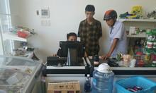 Lắp trọn bộ máy tính tiền cho shop, tạp hóa tại Bình Định