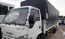 Xe tải isuzu 1 tấn 9 thùng dài 6m2 mui bạt - hỗ trợ trả góp