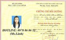 Cần học kế toán trưởng tại Nha Trang