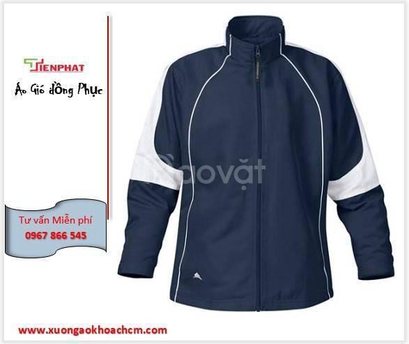 Xưởng may áo khoác đồng phục, áo gió sự kiện đẹp tại TP HCM
