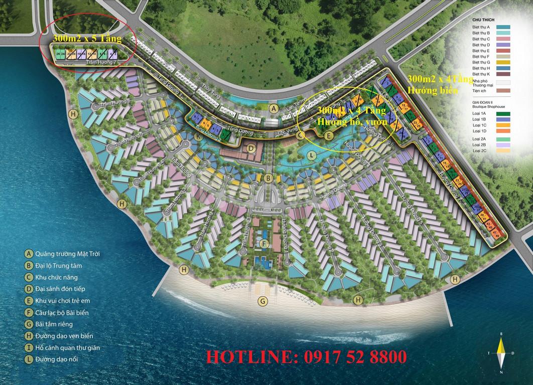 Suất ngoại giao cặp Boutique Hotel Sun Hạ Long,600m2x4T, 39 tỷ
