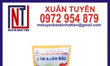 Chuyên cung cấp bao bì gạo, bao bì gạo 2kg