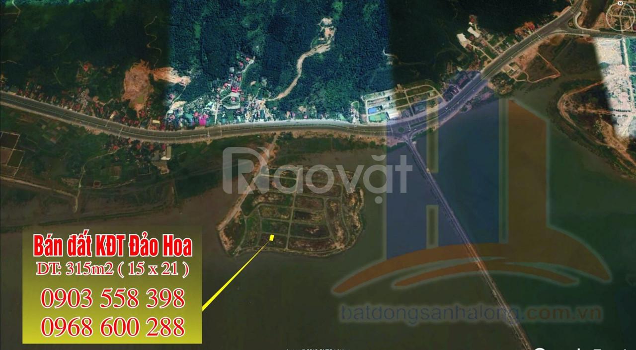 Bán đất khu đô thị Đảo Hoa cạnh cổng Tuần Châu - Hạ Long - Quảng Ninh