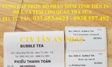 Tư vấn máy tính tiền cho quán trà chanh, trà sữa giá rẻ