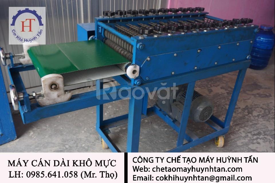 Máy cán khô mực cơ khí chế tạo máy Huỳnh Tấn (ảnh 1)