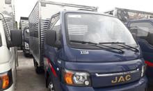 Bán xe tải JAC 2T4 máy ISUZU thùng dài 4m3 giá tốt