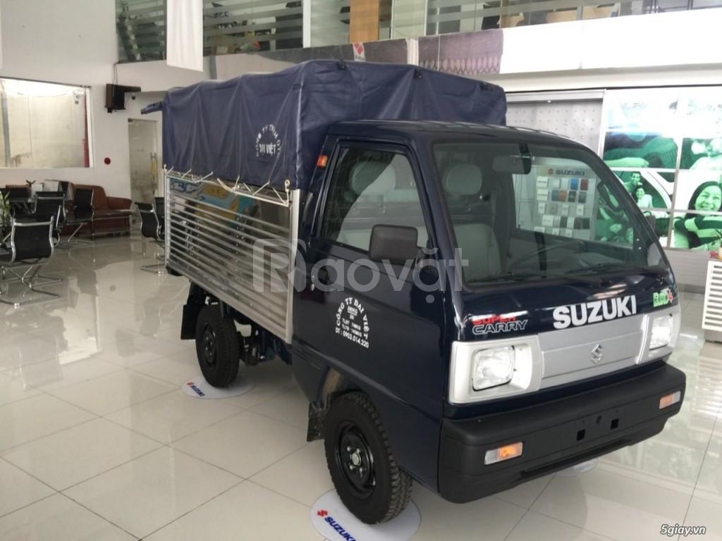 Xe tải Suzuki 5 tạ đời 2019 tiêu thụ 5l/100km