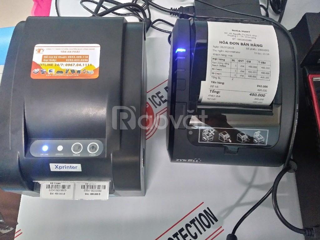 Combo phần mềm và các thiết bị tính tiền giá rẻ