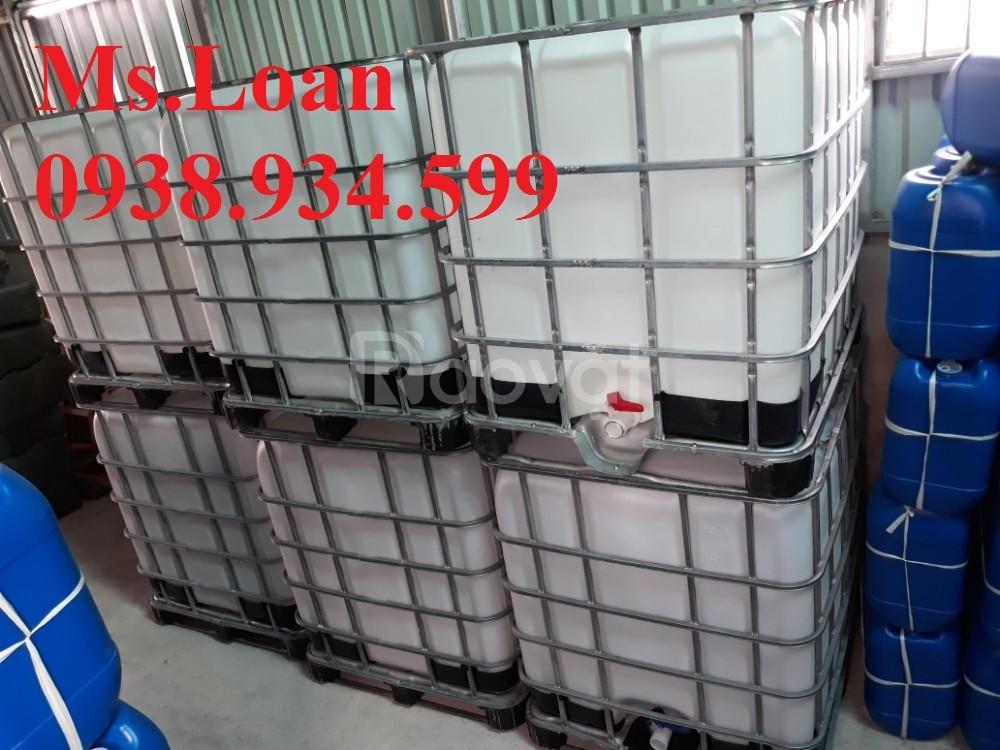 Thanh lý bồn nhựa 1000 lít hàng đã qua sử dụng