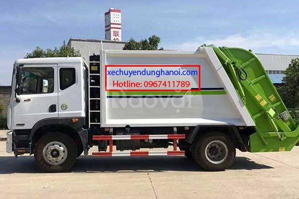 Xe ép rác dongfeng 12 - 16 khối 2019