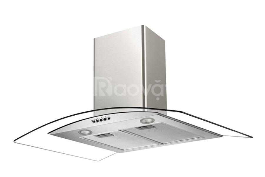 Máy hút mùi Chefs EH - R506E7 kính cong