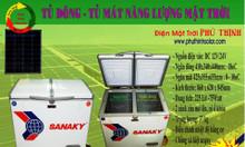 Tủ đông 12V-24V Năng lượng mặt trời Phú Thịnh Solar