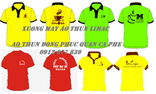 Áo thun nhân viên quán vải mát giá rẻ tại Bình Tân