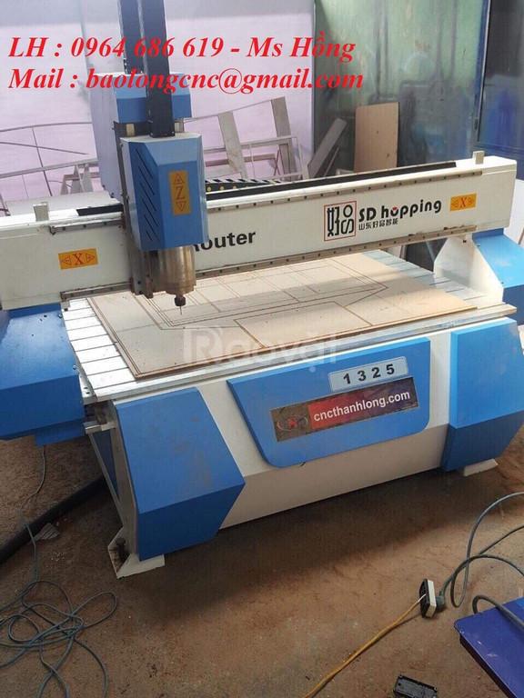 Máy cnc 1325 cắt gỗ, máy cnc 1 đầu cắt quảng cáo