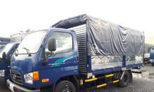 Xe tải huyndai mighty 75s tải trọng 3 tấn 5 thùng dài 5m nhập khẩu