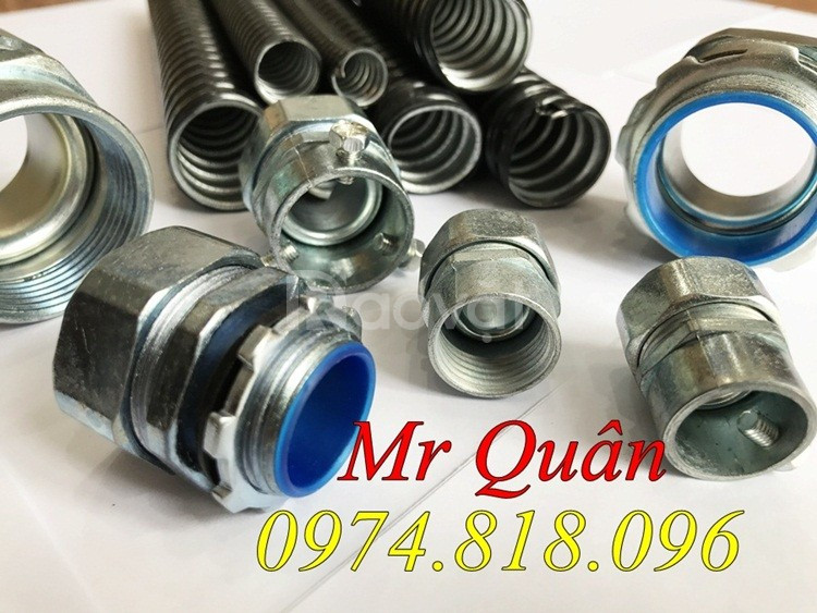Ống bảo vệ dây cáp - ống sun sắt đàn hồi bọc nhựa D19