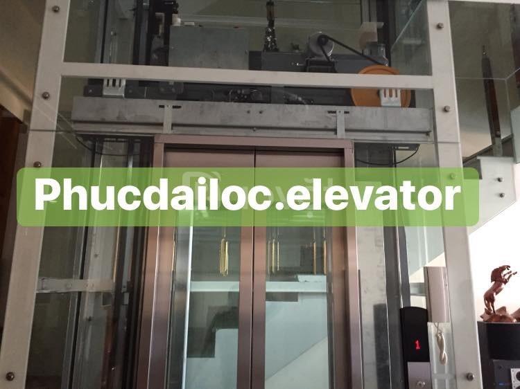 Dịch vụ lắp đặt thang máy gia đình giá tốt