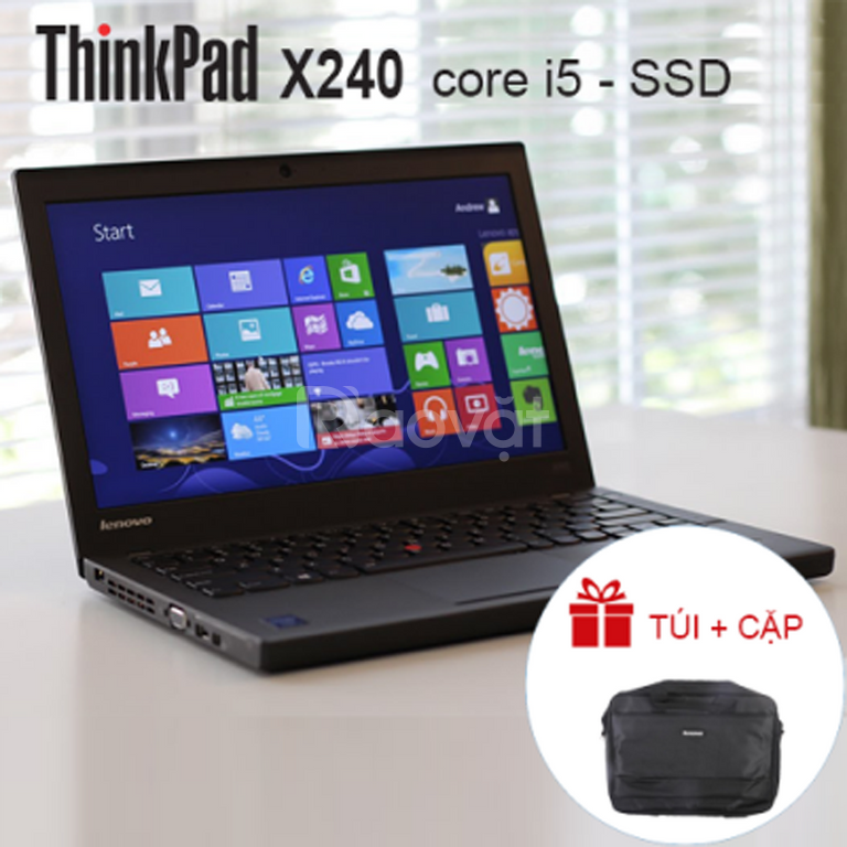 Laptop Lenovo ThinkPad X240 Core i5/ ram 8gb/ ssd 240gb