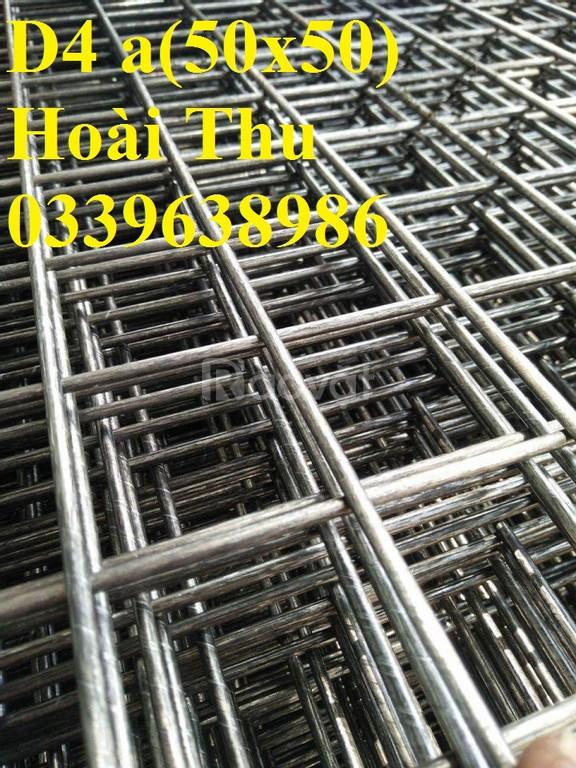 Lưới thép hàn chập D4 a(50x50), D4 a(100x100)