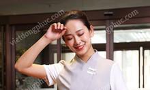Xưởng may đồng phục buồng phòng khách sạn giá rẻ, in thêu sắc nét