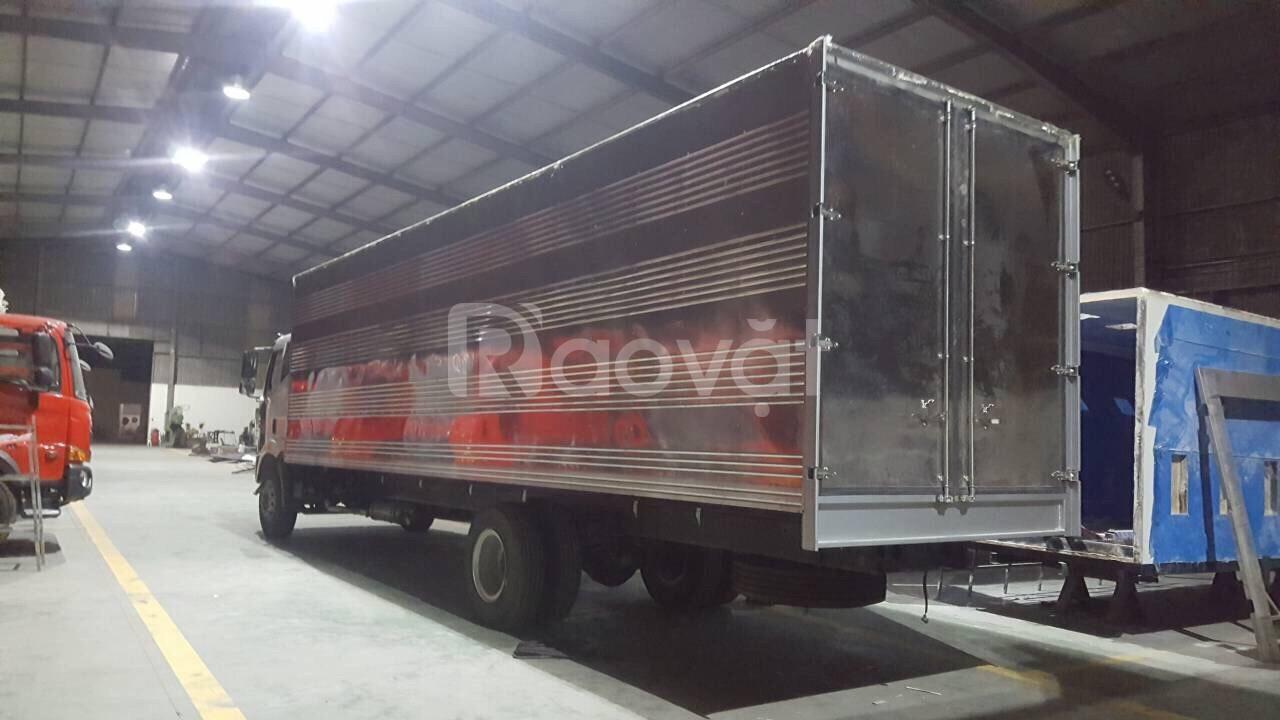 Xe tải Faw 7 tấn 2 thùng dài 10m đời 2019