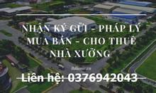 Cho thuê xưởng trong khu công nghiệp Mỹ Phước, thị xã Bến Cát, BD