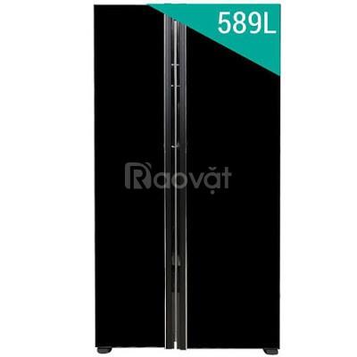 Tủ lạnh SBS Hitachi R-S700PGV2 (GBK) - 589 lít (đen) giá rẻ