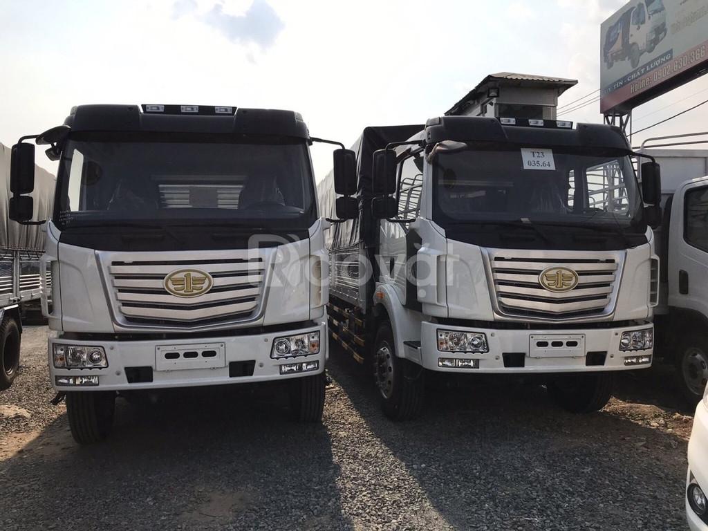 Xe tải faw 8 tấn thùng dài 10m nhập khẩu