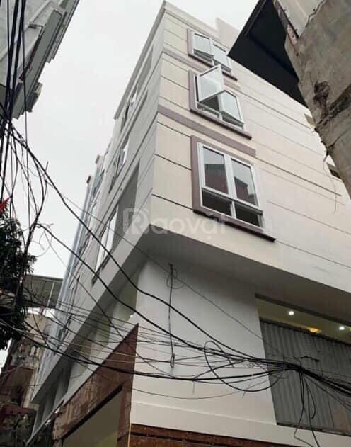 Nhà ngõ 236 Hoàng Quốc Việt, 102m, 6 tầng, giá 10.35 tỷ