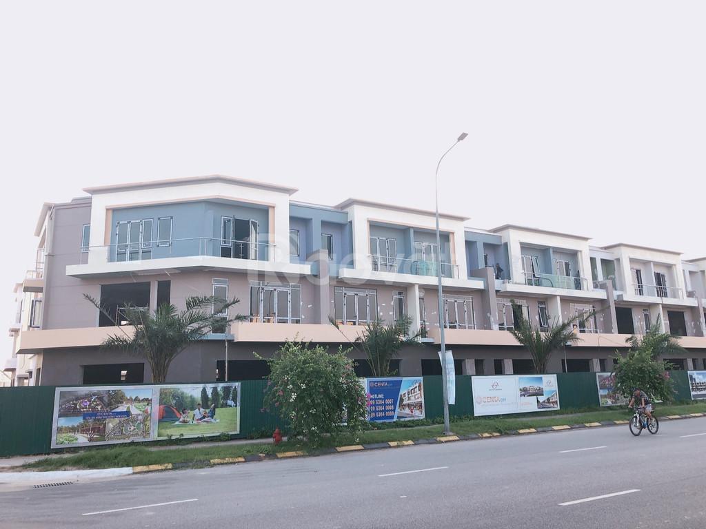 Bán nhà phố mặt tiền 56m, SH100 - Centa City dưới giá chủ đầu tư