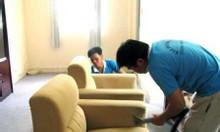 Giặt ghế sofa sạch sẽ, khử mùi, diệt khuẩn
