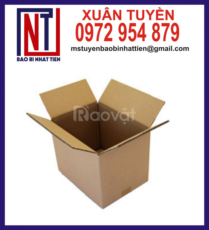 Thùng giấy carton giá rẻ, thùng carton không in ấn (ảnh 8)