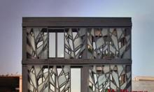 Cửa đi hoa văn, khung bảo vệ cửa sổ sắt cnc, sắt uốn bền, đẹp, giá rẻ