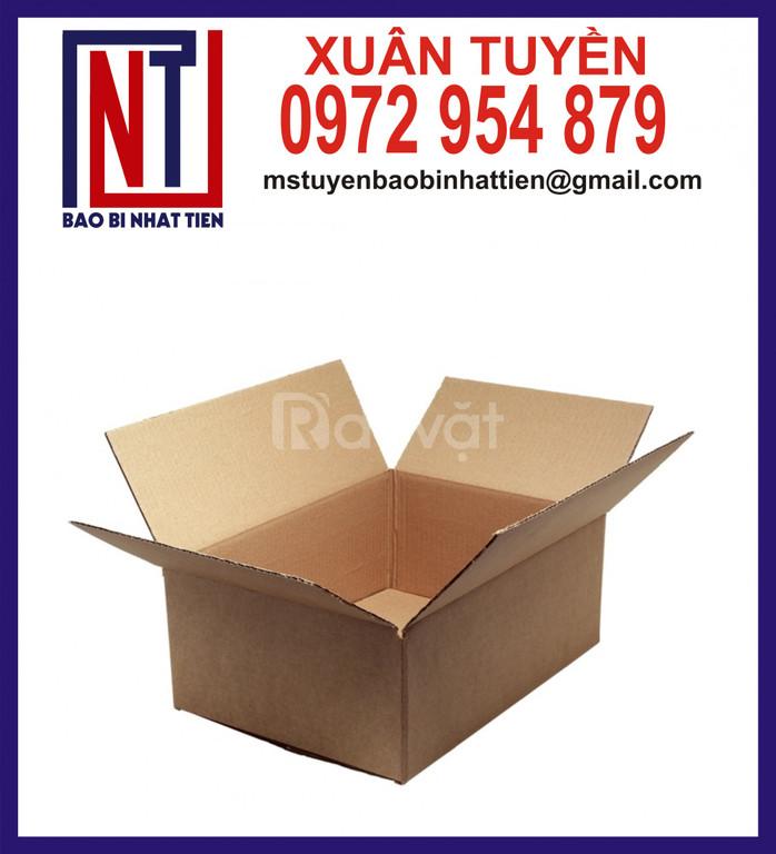 Thùng giấy carton giá rẻ, thùng carton không in ấn (ảnh 6)