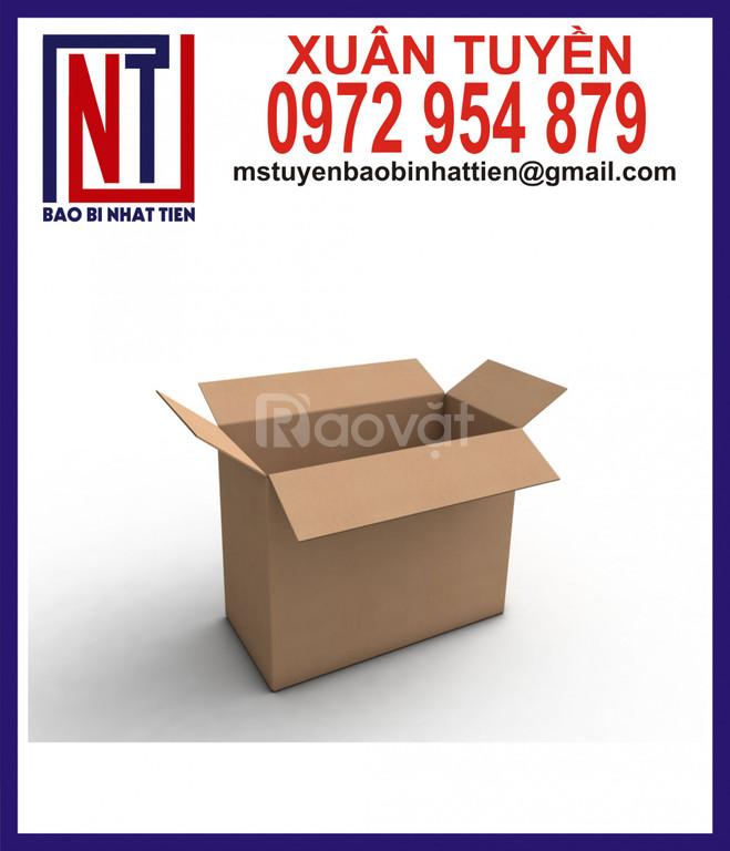 Thùng giấy carton giá rẻ, thùng carton không in ấn (ảnh 1)