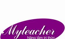 Trung tâm gia sư Myteacher tuyển gia sư dạy kèm tại nhà và trực tuyến