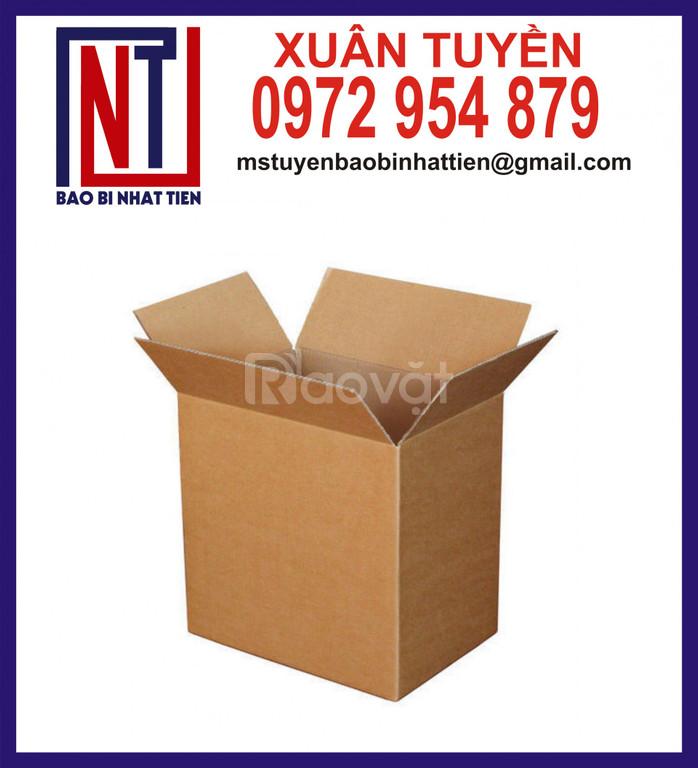 Thùng giấy carton giá rẻ, thùng carton không in ấn (ảnh 7)